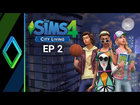 The Sims 4 City Living Let's Play - Part 2