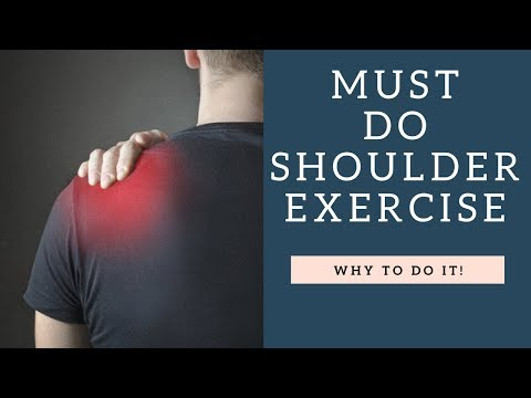 MUST-Do Shoulder Exercise If You Workout & Don't Want Shoulder Impingement Or Pain   How To Demo!