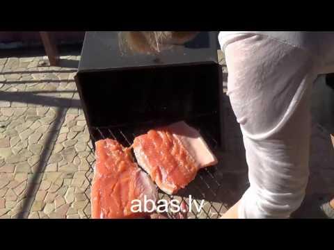 Urban style smoked solomon with ABAS Smokehouses