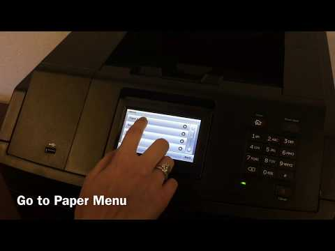 How to Set Your Dell S5830dn Printer to Print on Labels