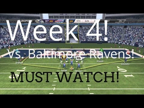 MUST WATCH! Buffalo Bills   Madden 25 Franchise - Week 4 vs. Baltimore Ravens - Season One