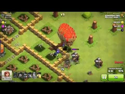 Clash of Clans TH8 Dragoloonian (Dragons, Balloons, Minions) Attack