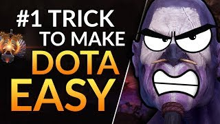 #1 TRICK TO MAKE DOTA EASY - Support Tips to WIN MORE and RANK UP   Dota 2 Guide