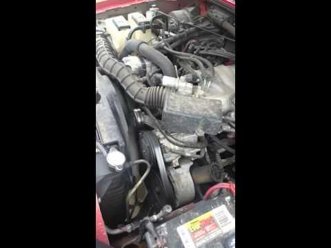 2000 Ford Ranger serpentine belt