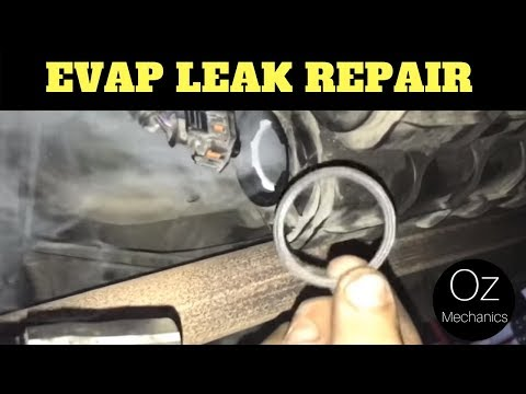 How to fix a large EVAP leak