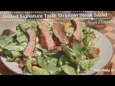 Grilled Signature Tastes Striploin Steak Salad