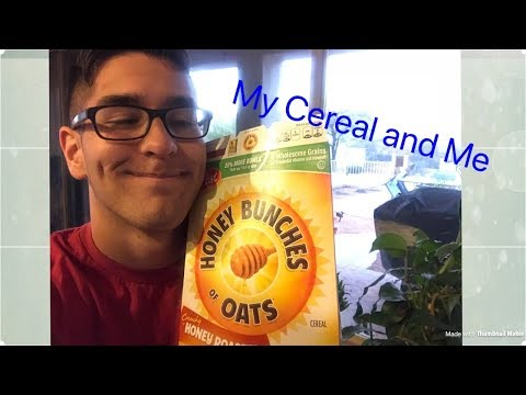 How To Fill A Bowl of Cereal (My Cereal and Me)