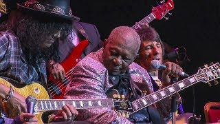 """B.B. King with Slash """"The Thrill Is Gone"""". Amazing."""