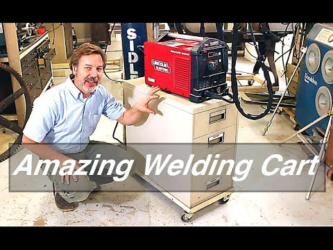 The perfect Welding cart :-)
