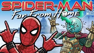 Download Spider-Man: Far From Home Trailer Spoof - TOON SANDWICH Video