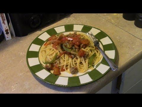 Skillet Spaghetti in the Copper Chef XL