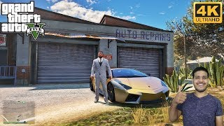 GTA 5 : FRANKLIN'S NEW BUSINESS & GOLD LAMBO MODIFICATIONS🔥