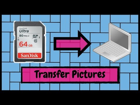 How to Transfer Pictures and Video Files from an SD Card to Your Windows PC