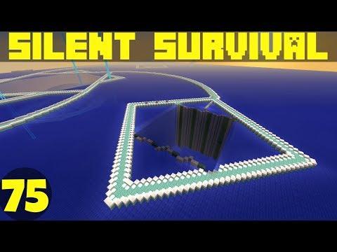 Silent Survival Ep75 Chocolate Diamonds! Minecraft Vanilla Survival