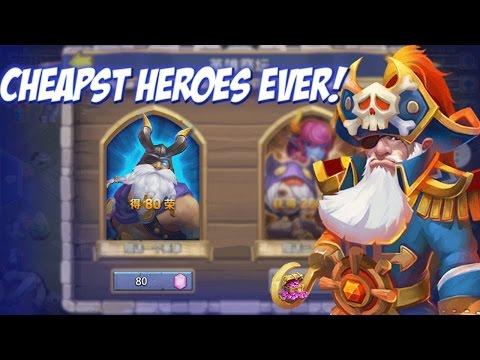 Castle Clash Buy Heroes for 80 Gems!?!