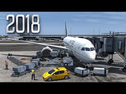 New Flight Simulator 2018 in 4K - P3D 4.2   Spectacular Realism