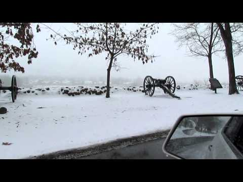 I Take a Tour of the Gettysburg Battlefield