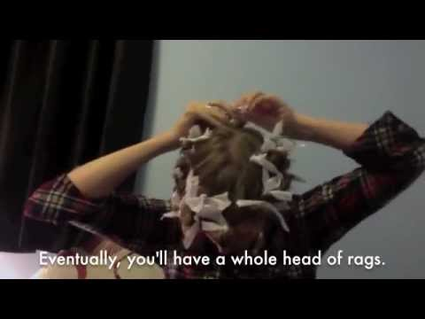 Streatstyle How-To: Rag Curls
