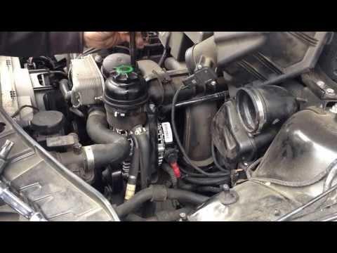 2007 BMW E83 X3 3.0 Alternator DIY