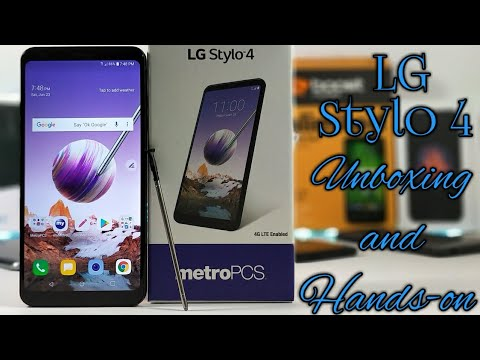 LG Stylo 4 Detailed Unboxing and Hands-on.