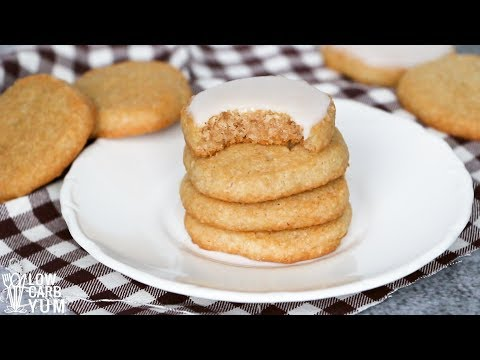 Low Carb Keto Sugar Cookies