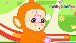 Teletubbies ★ NEW Tiddlytubbies Cartoon Series! ★ Episode 3: Tubby Custard ★ Videos For Kids