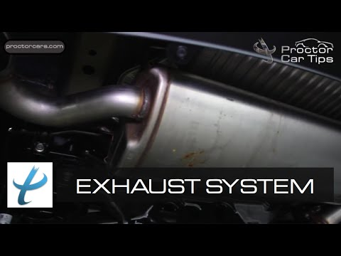 What is an Exhaust System? - Tail Pipe, Catalytic Converter, and Muffler