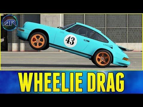 Forza 5 : Wheelie Drag Build (How To Make a Wheelie Car in Forza 5)