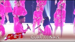 Ndlovu Youth Choir: South African Group Has Message Of LOVE To America | America's Got Talent 2019