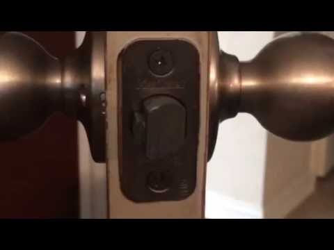 How To Unlock Bed Room Door, Pantry and Closest (some have security pins)