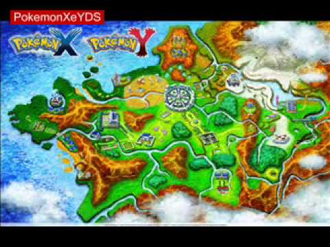 Pokemon X e Y - Victory Road Map and Music
