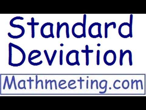 Standard deviation - Statistics