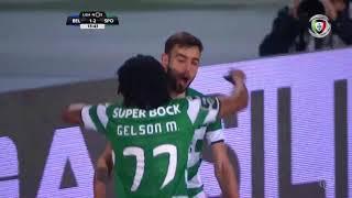 Golo de Gelson Martins: Belenenses 1-(2) Sporting (Liga 30ªJ)