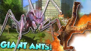Download GIANT ANTS ATTACK CITY! - Earth Defense Force 4.1 Gameplay - Giant Ant Mission gameplay(EDF) Video