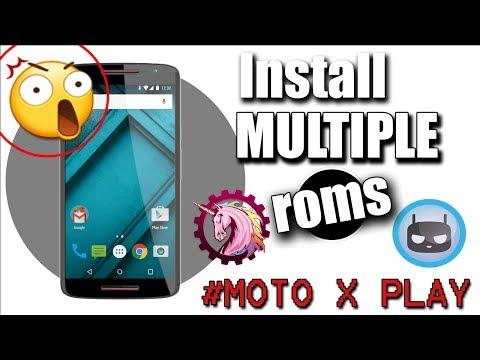 Install Multiple Custom Roms Using Multirom Boot Manager on Moto X Play (100% working)