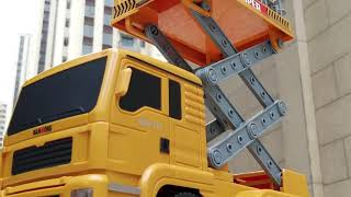 4GL Street Lamp Maintenance Vehicle RC Car 2.4G Remote Control Car RC Truck RC Toys Kereta Kontrol