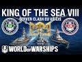 King of the Sea VIII - Server Clash CIS vs EU