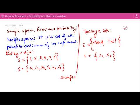 Sample Space, Event and Probability