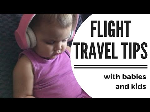TRAVELING WITH KIDS & BABIES PART 2//AIRPLANE TRAVEL✈️