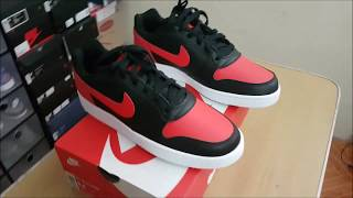 on sale c632a 8fa73 Unboxing of Nike Ebernon (Air Jordan 1 Bred and Nike Air Force 1 in one  pair of sneakers)