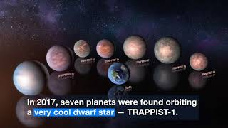 TRAPPIST-1 Planets Are Probably Rich in Water | Video