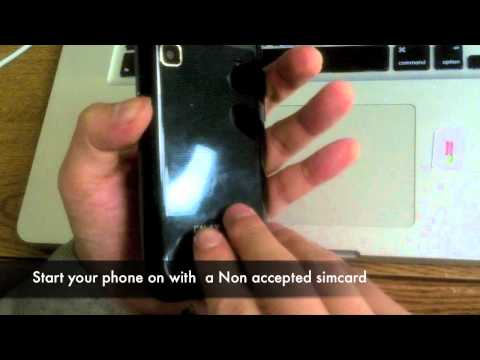 UNLOCK any SAMSUNG GALAXY S | Instructions on How to Unlock GT-i9000 Vibrant Captivate Fascinate 4G
