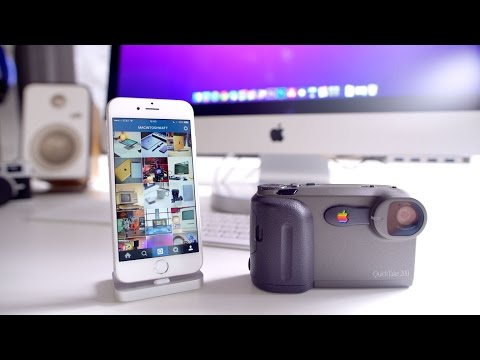 Apple Camera on Instagram! - New Tech Old Tech
