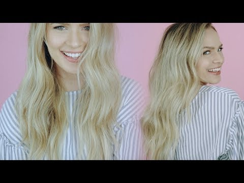 Easy Undone Model Waves: Hair tutorial! - KayleyMelissa