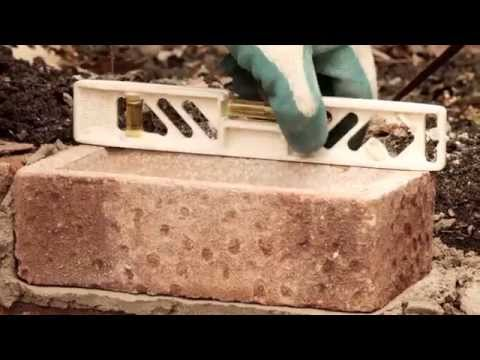 How to lay bricks with U-Can Mix in the Bag Mortar