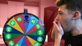 LOSING 100,000 ROBUX IN 1 SPIN | Roblox Wheel w/ Poke