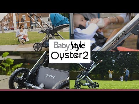Oyster2 Pushchair by BabyStyle Lifestyle - Direct2Mum
