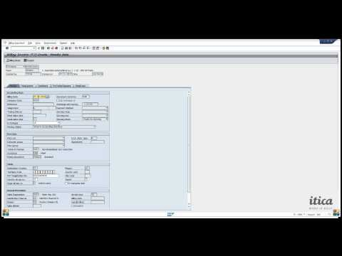 SAP Training ITICA - How to create invoice from Sales Order and show the Printout