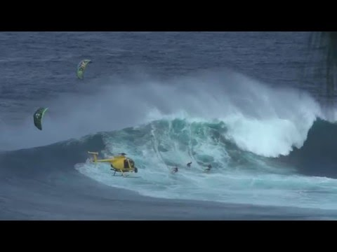 December 9, 2015 Peahi (Jaws) Maui multisport sessions