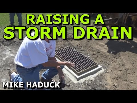 Storm drain, raise - repair (Mike Haduck)